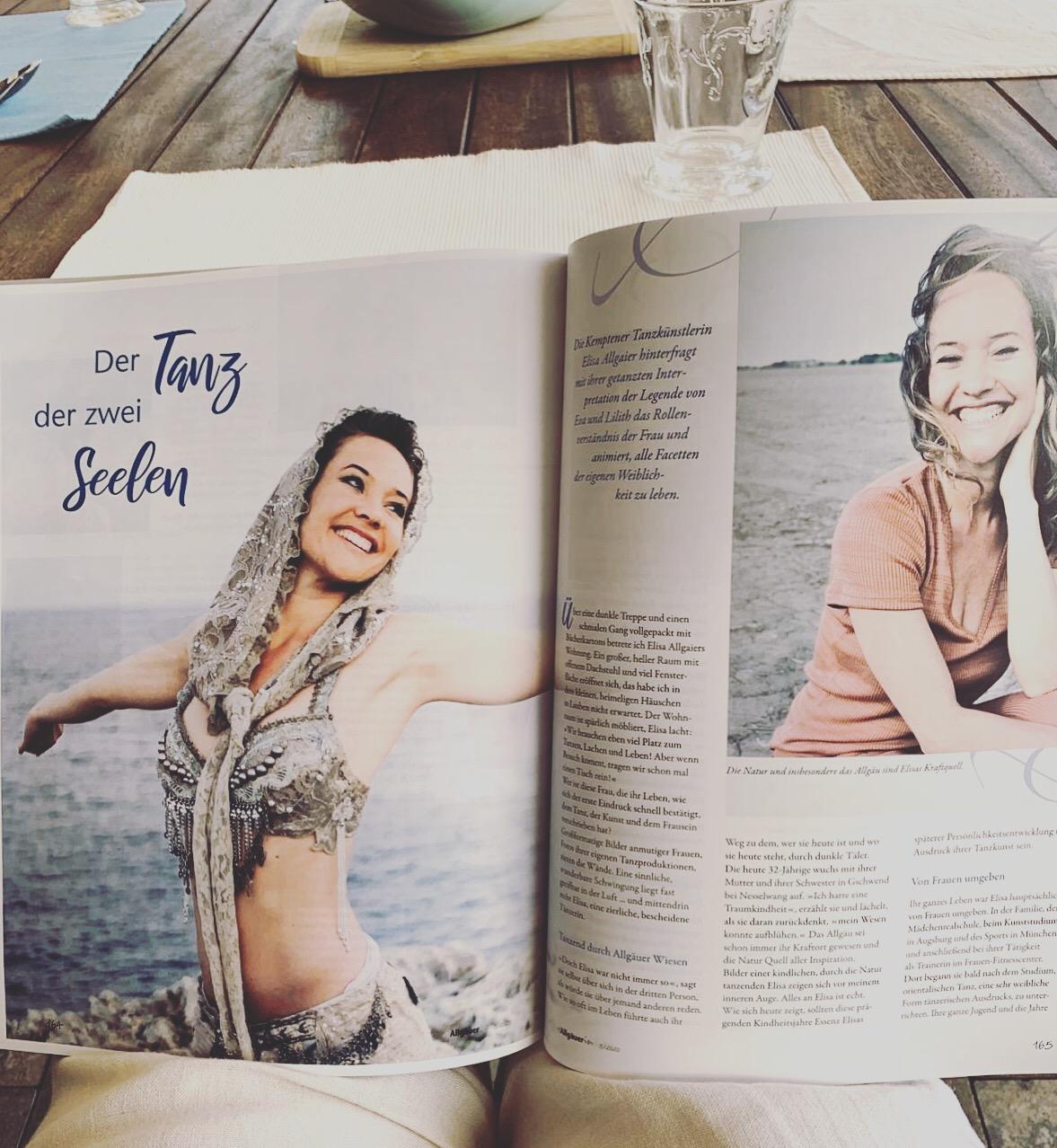 """Read more about the article Tanz der zwei Seelen in der """"Die Allgäuerin"""""""